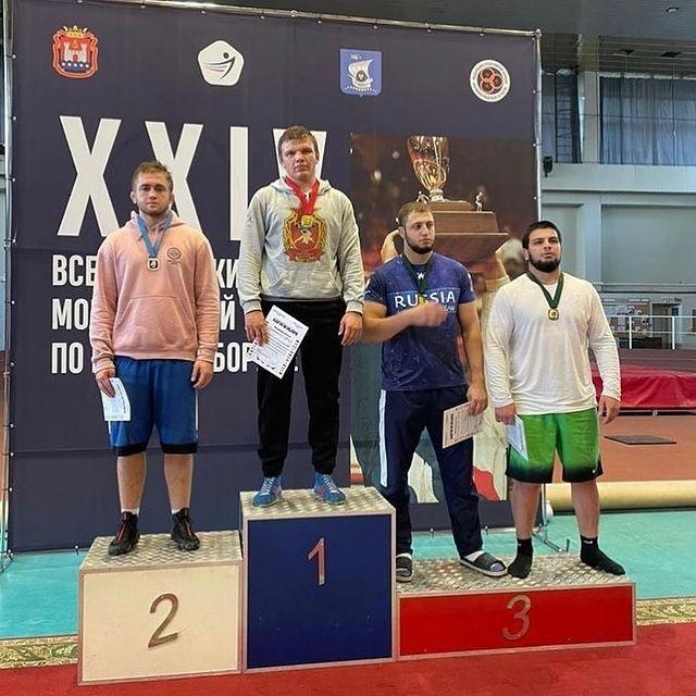 Студент АГАТУ — серебряный призер Всероссийского турнира по вольной борьбе