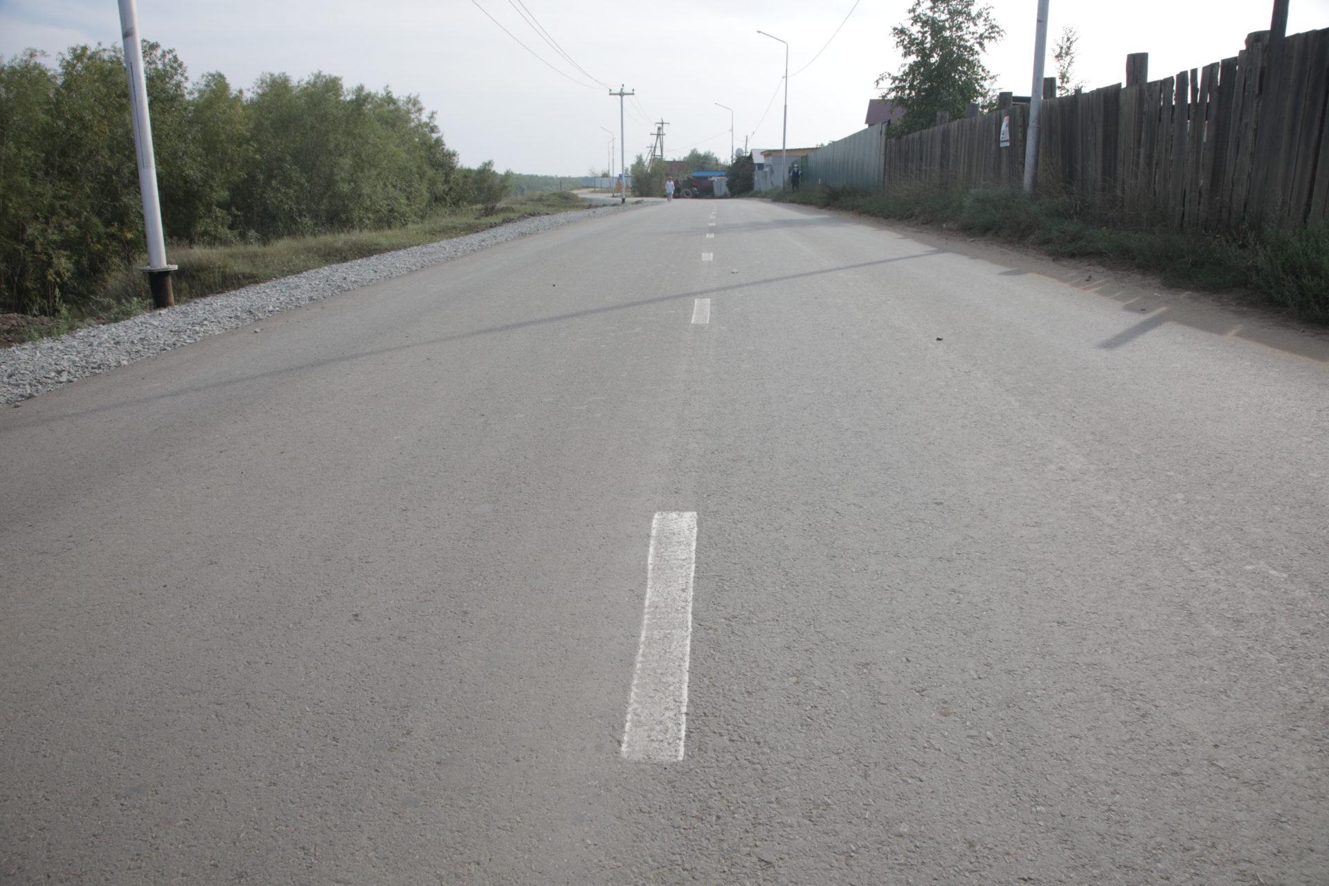В Якутске завершается асфальтирование дорог в рамках реализации нацпроекта БКД
