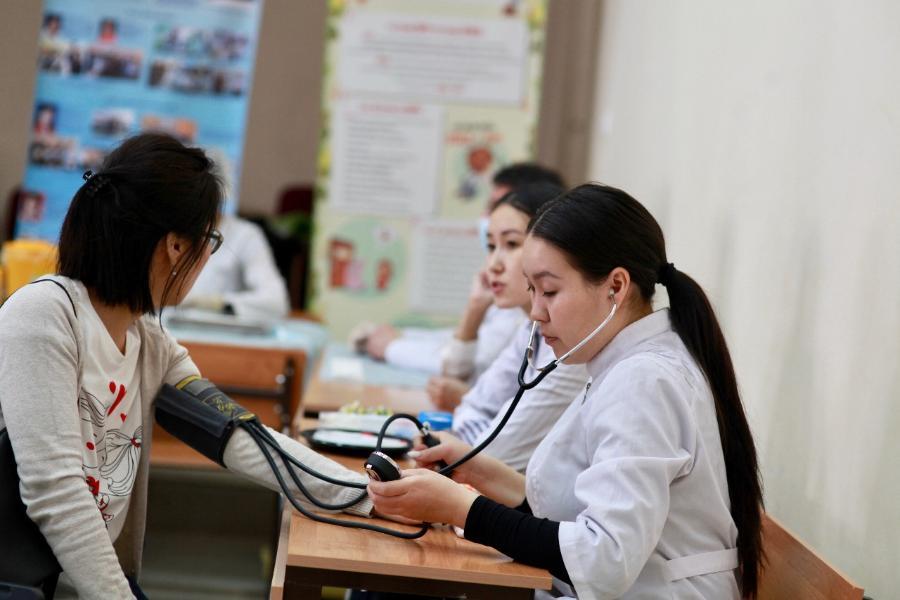 Медклиника СВФУ проконсультирует граждан в рамках Ярмарки здоровья