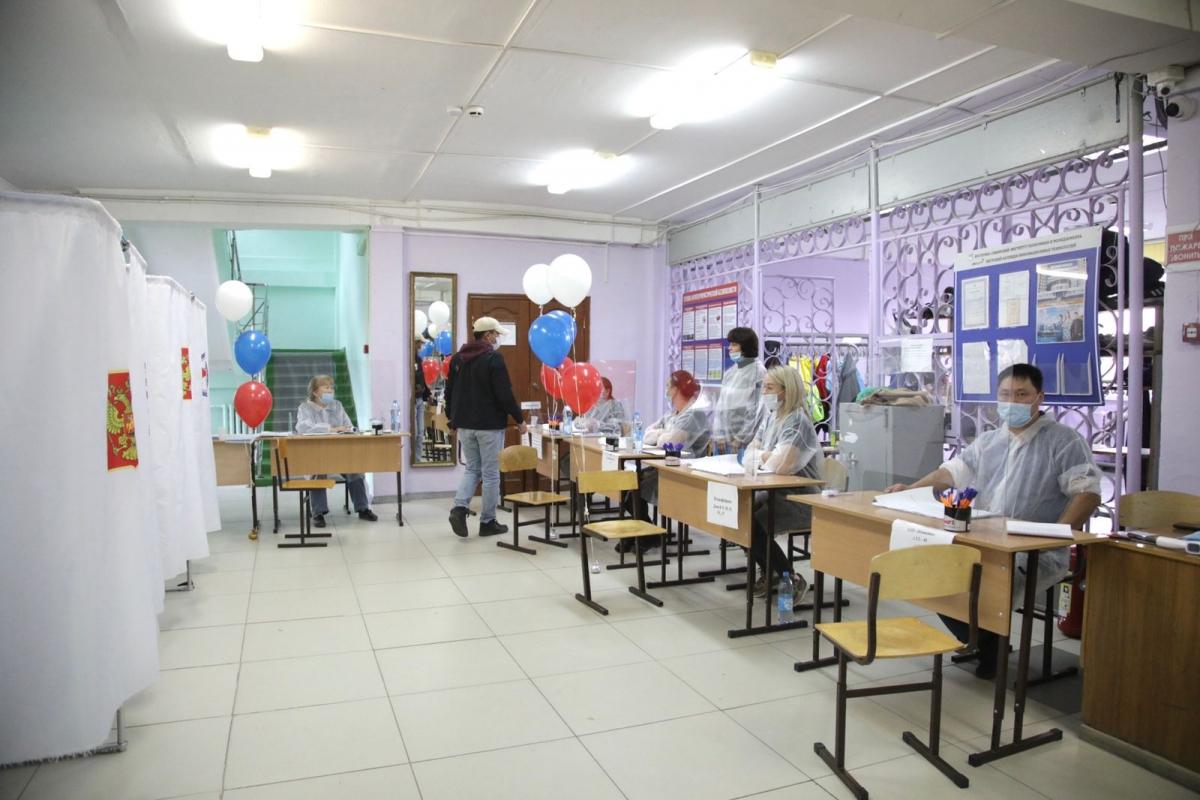 В Якутске стартовало голосование на выборах в Государственную Думу Российской Федерации