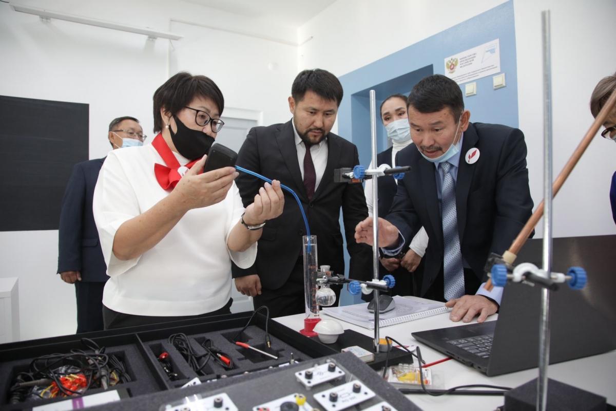 В школе села Пригородный открылась «Точка роста»
