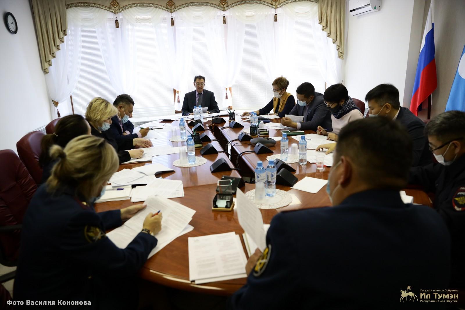 Владимир Чичигинаров провел заседание рабочей группы по разработке законопроектов по поддержке лиц, нуждающихся в ресоциализации