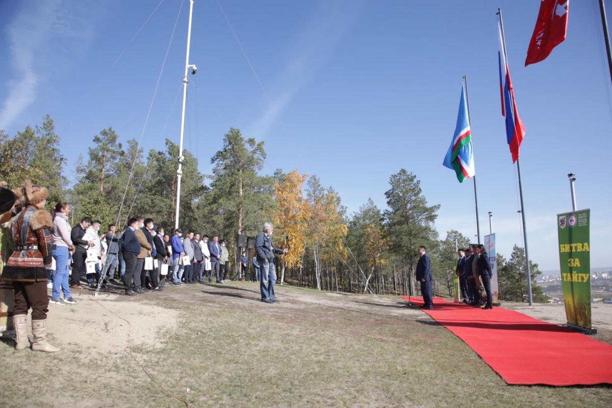 В Якутске чествовали участников ликвидации пожара