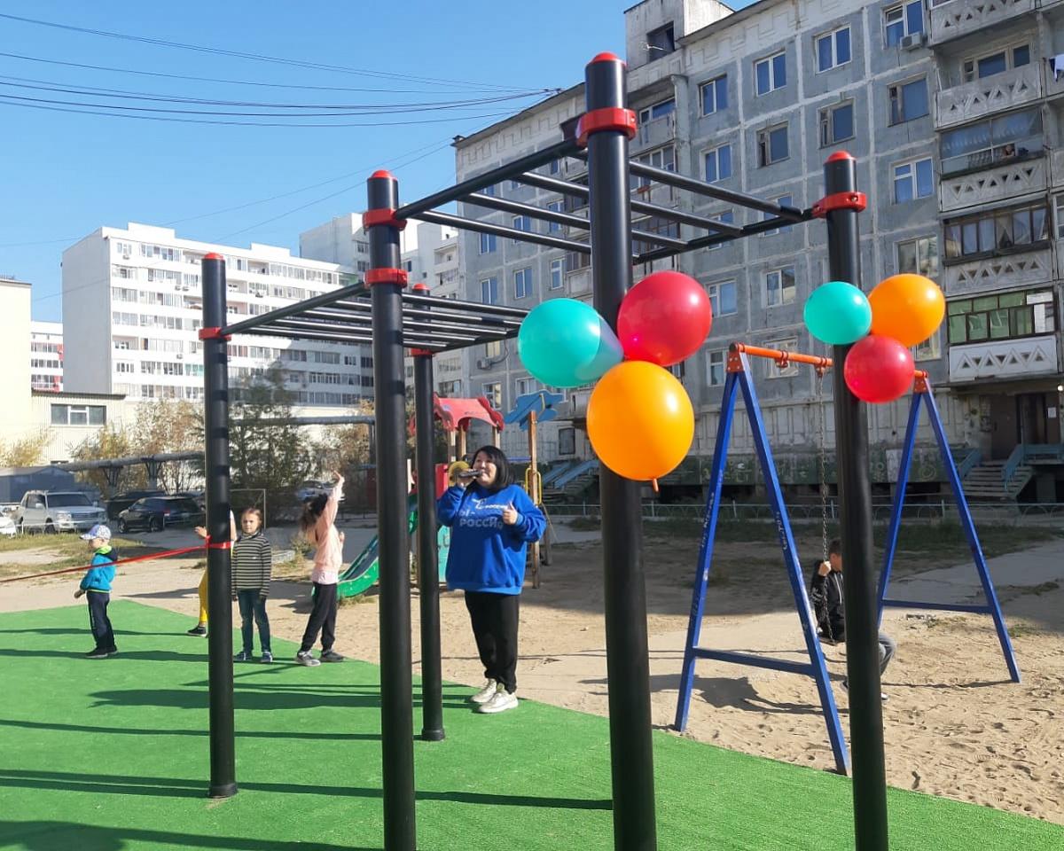 15 спортивных площадок появятся в сентябре в Якутске