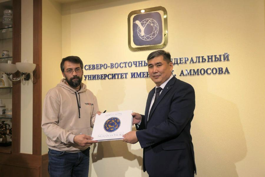 В СВФУ прошла встреча с делегацией Чукотского автономного округа
