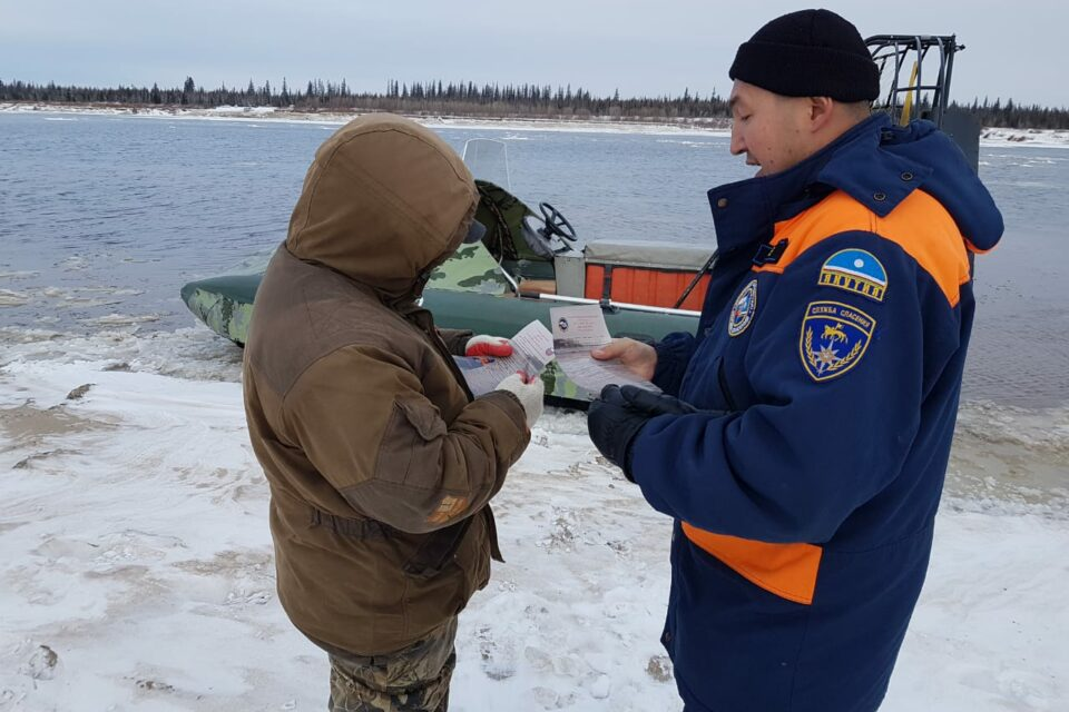 На реках Якутии наблюдается устойчивое ледообразование