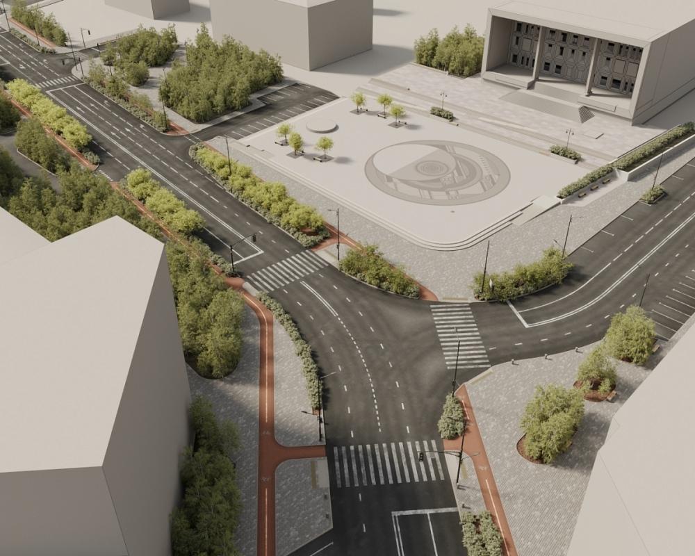 Капремонт проспекта Ленина начнется 7 октября