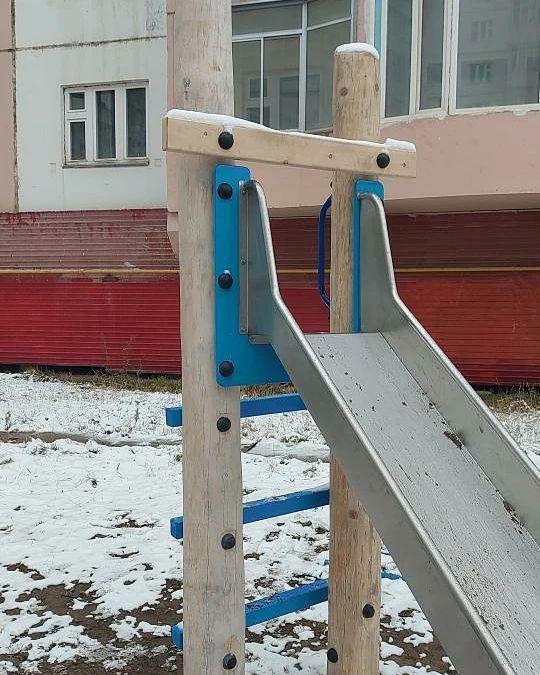 В Управе Центрального округа прокомментировали сообщения о детской площадке по ул. Пояркова