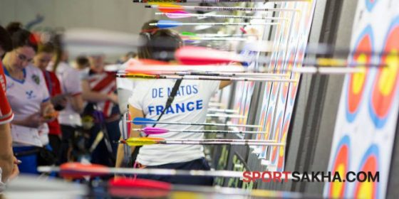Якутская лучница борется за золотую медаль на чемпионате Европы