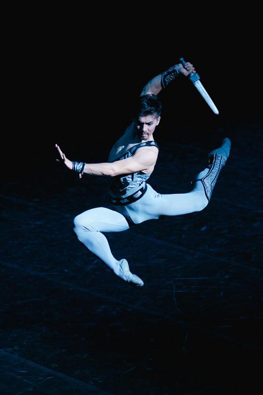 Вновь на сцене театра оперы и балета Якутии легендарный балет «Спартак» в постановке Юрия Григоровича.