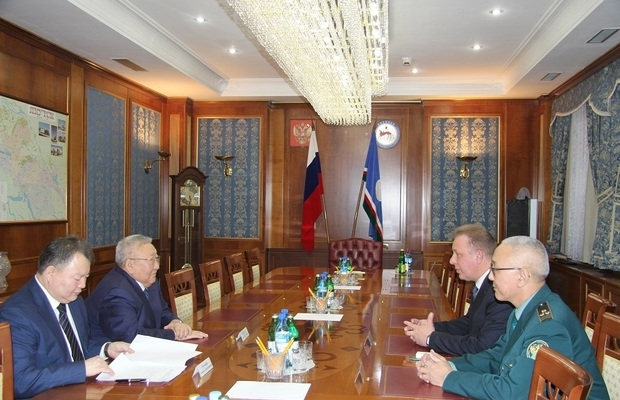 Егор Борисов ставит вопрос о восстановлении Якутской таможни