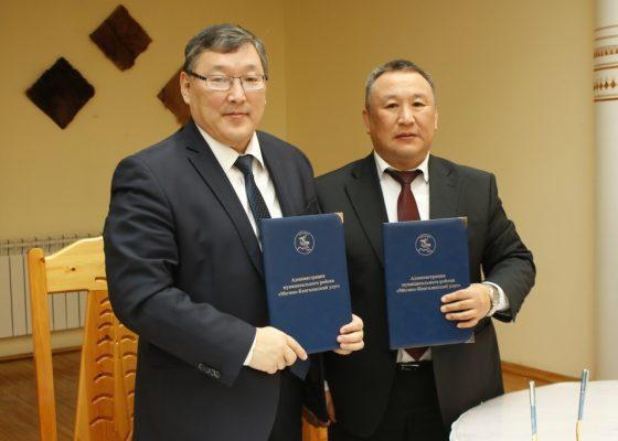 В администрации муниципального района Профсоюзы Якутии и наш улус будут сотрудничать