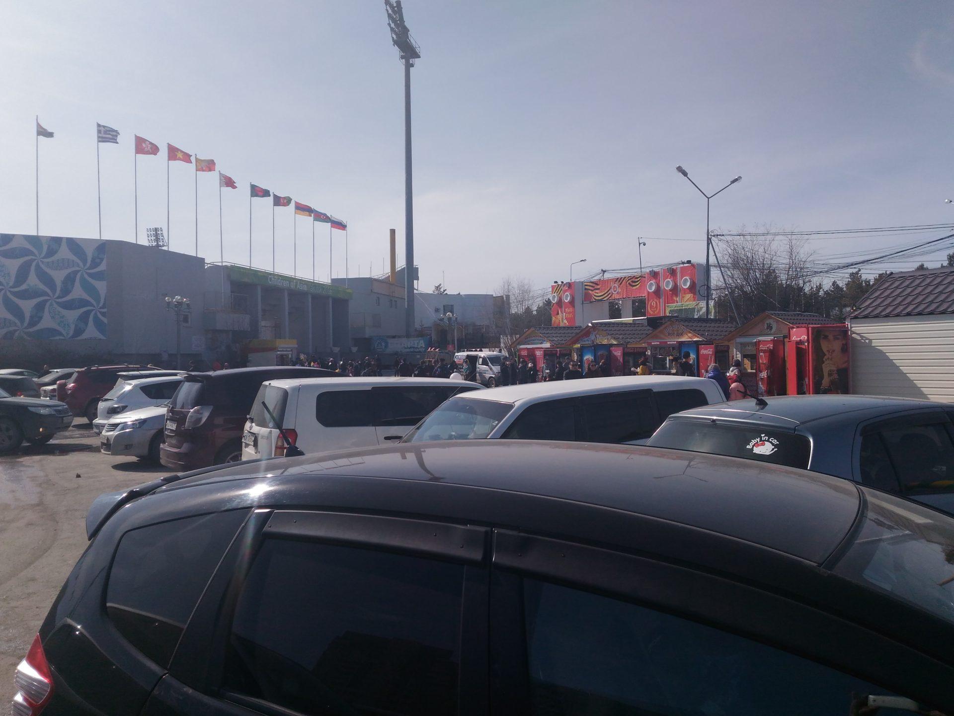 Бардак на Комсомольской площади продолжается