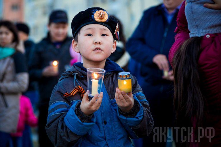 Якутян приглашают на Всероссийскую акцию «Свеча памяти»
