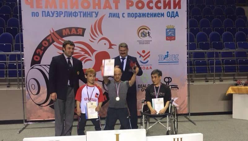Владимир Балынец стал 12-кратным чемпионом России по пауэрлифтингу