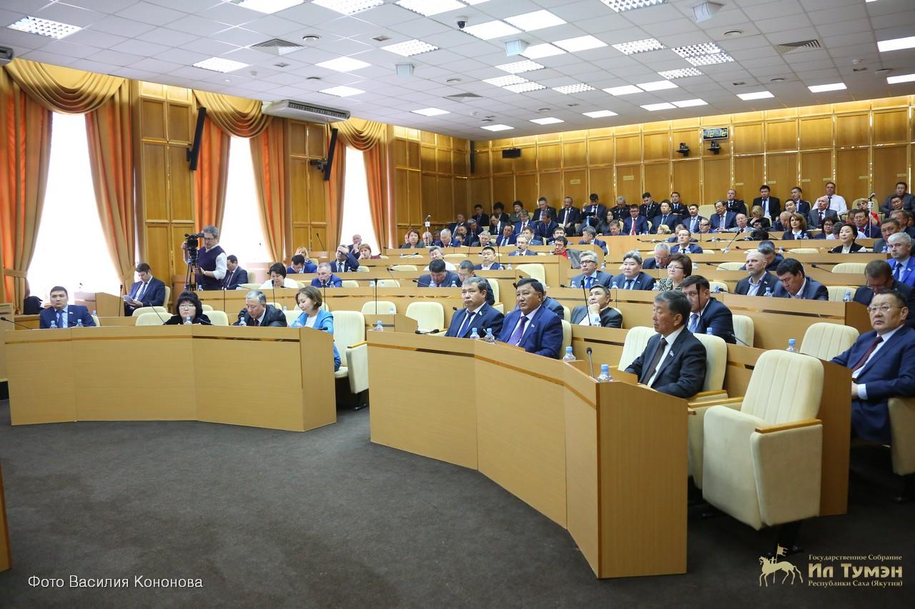 Критика в адрес народных депутатов Ил Тумэна вызвало возмущение у вице-спикера, а спикер опять удачно уехал за пределы…