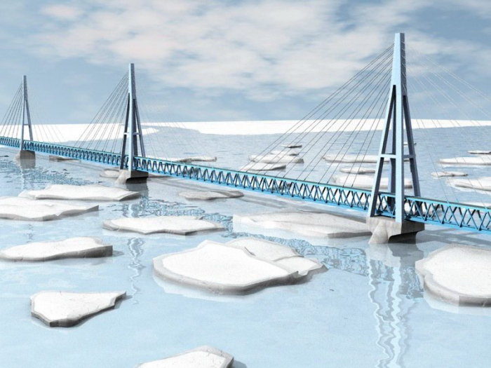 Китайцы представят проект моста через Лену на форуме ВЭФ в сентябре