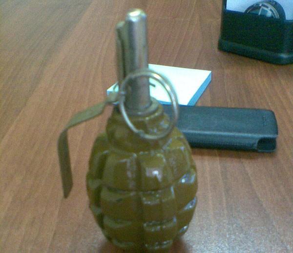 Житель Якутска сдал боевые гранаты Ф-1