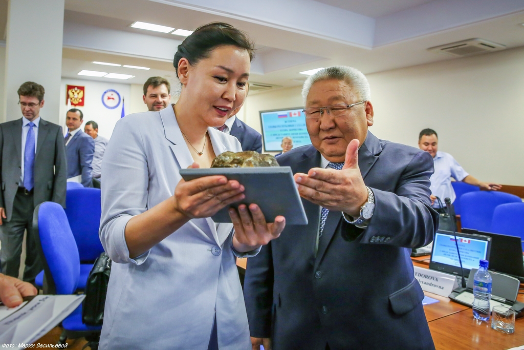 Акционеры АО «Прогноз» встретились с главой Якутии