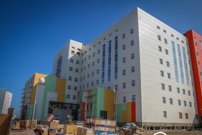 Перинатальный центр в Якутске введут в эксплуатацию уже осенью этого года
