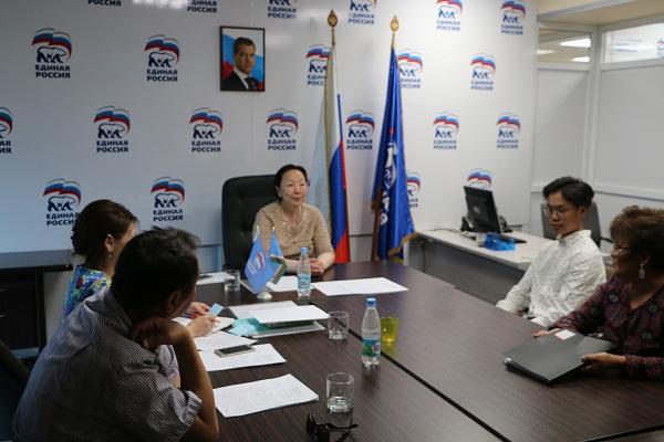 Антонина Григорьева провела личный прием граждан