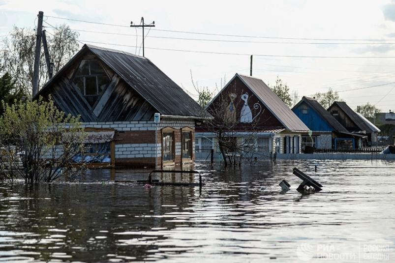 Паводковая ситуация в населенных пунктах и на реках Якутии