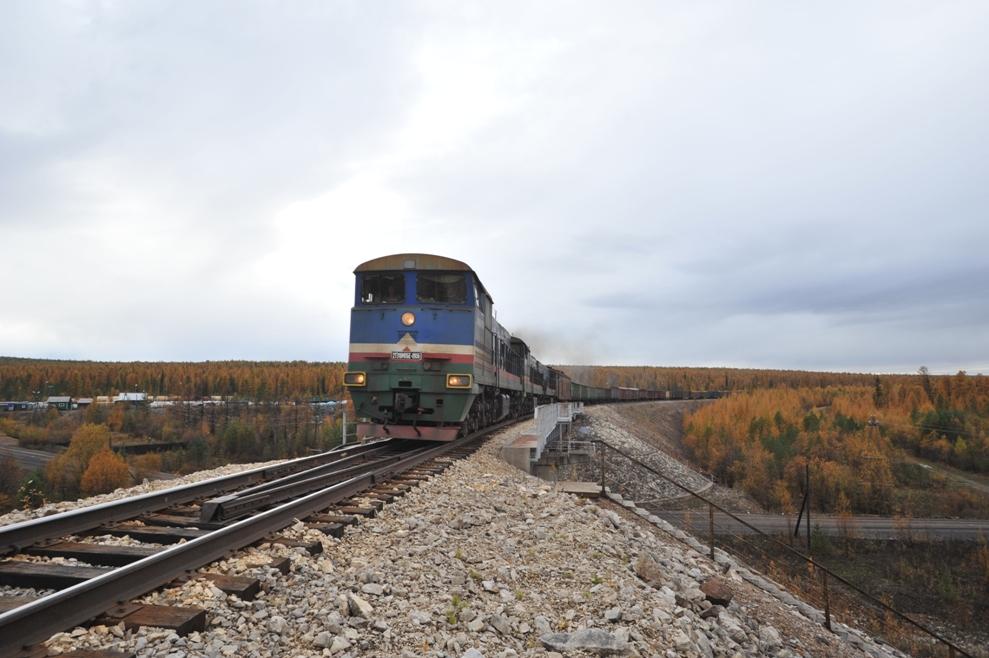 Тарифы на перевозку строительных грузов по железной дороге Беркакит-Томмот будут снижены на 40%
