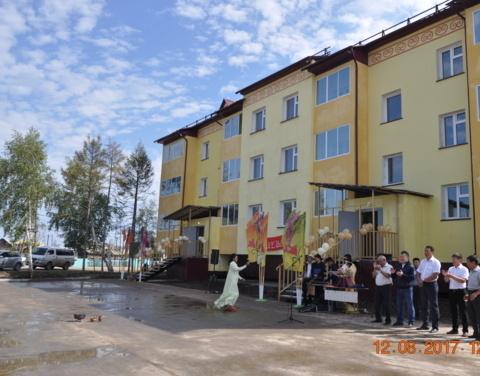 Амгинский улус успешно завершил реализацию программы переселения граждан из аварийного жилья