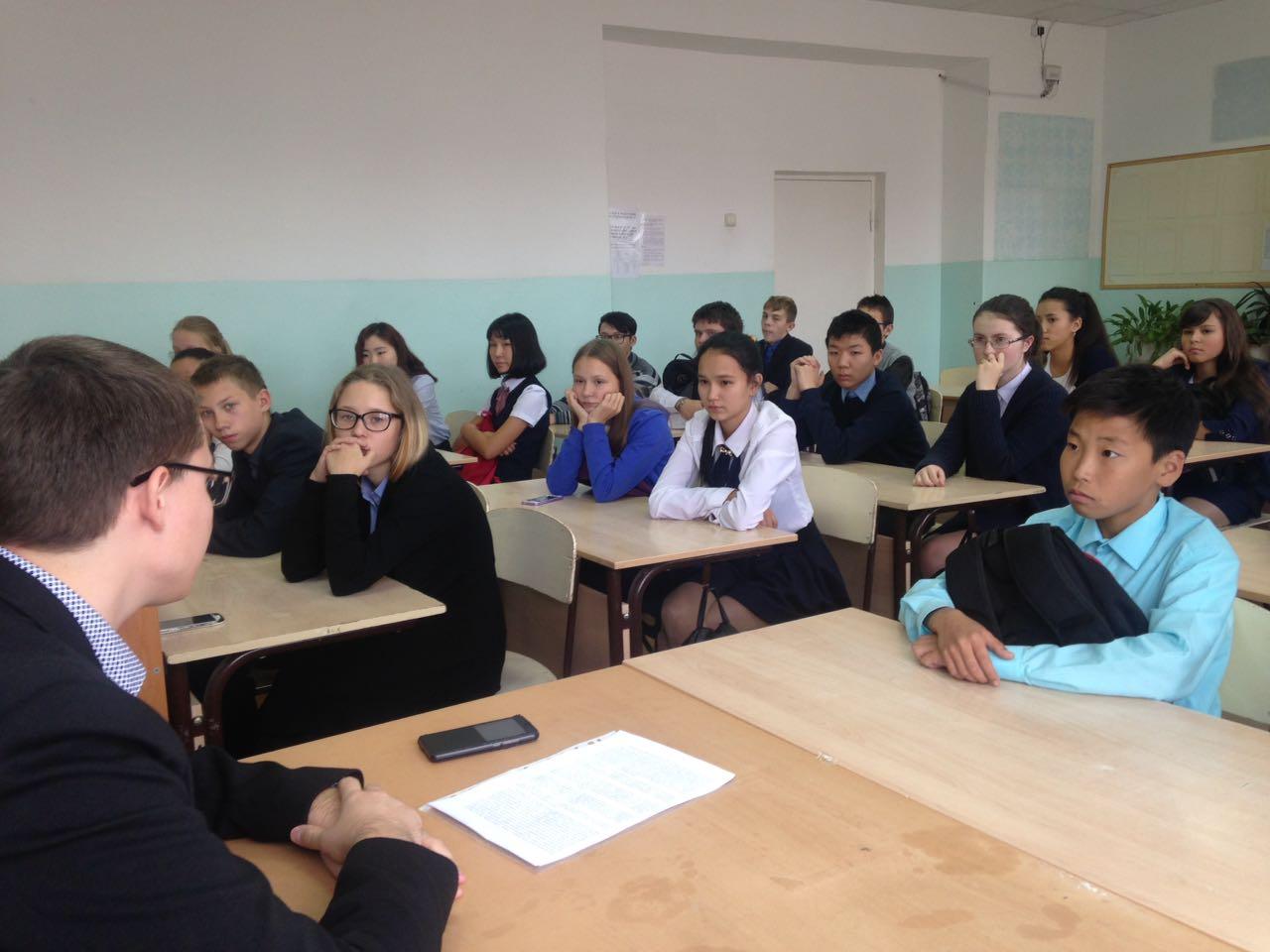 Депутат от ЛДПР рассказал детям о суверенитете Якутии