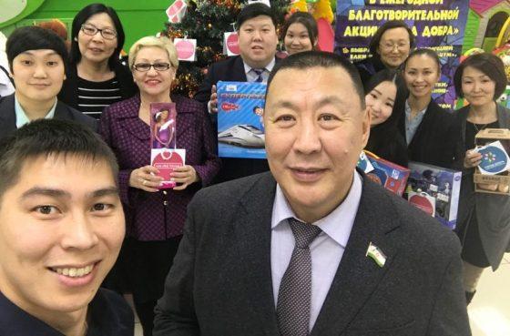 Якутская городская Дума участвует в благотворительной акции