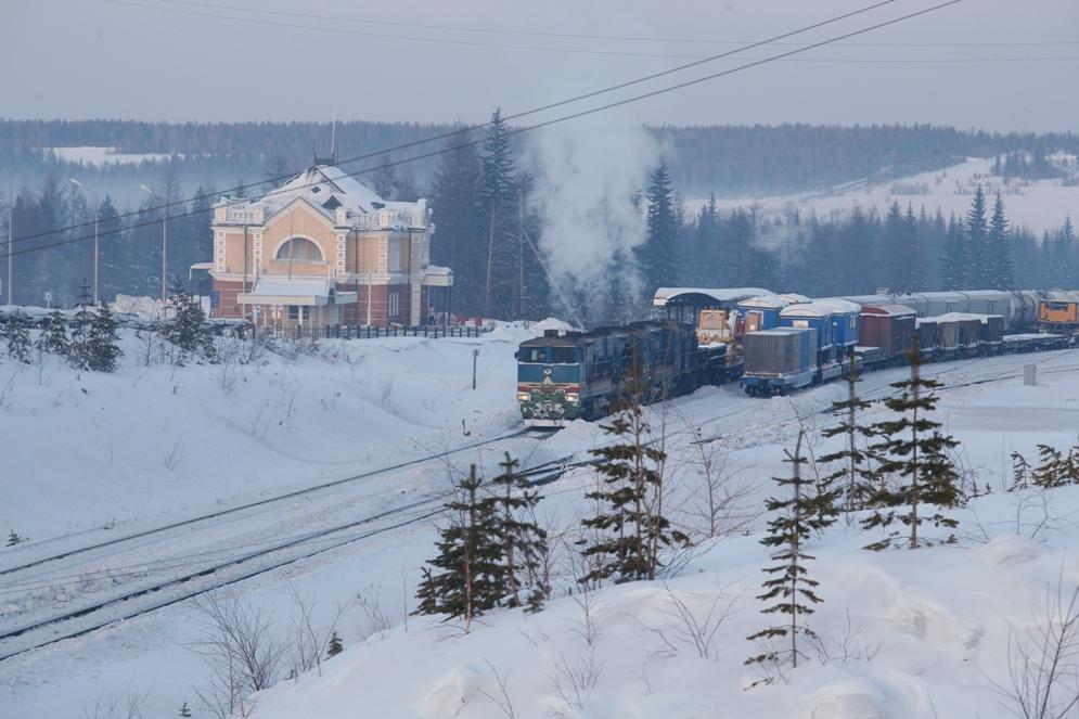 Объемы перевозки грузов Акционерной компании «Железные дороги Якутии» продолжают расти