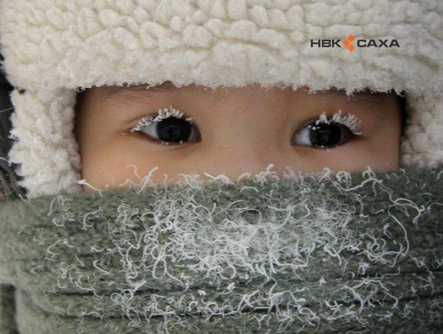 В двух поселках Якутии зарегистрировано -57 градусов, три школы закрыты полностью