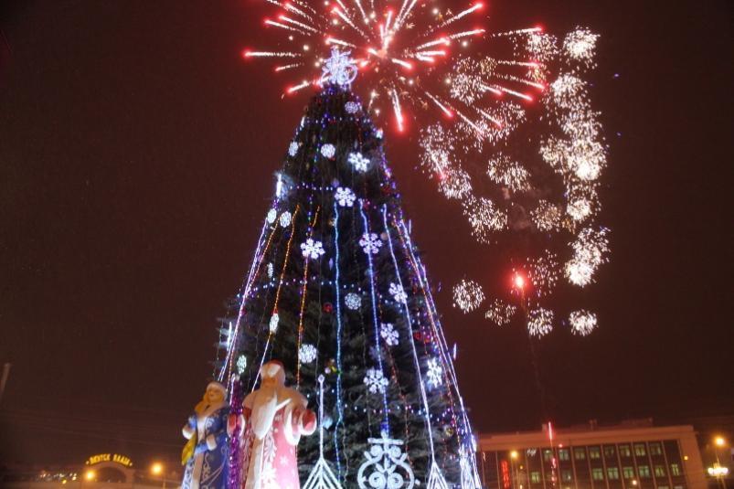 В Новогоднюю ночь в Якутске будет тепло