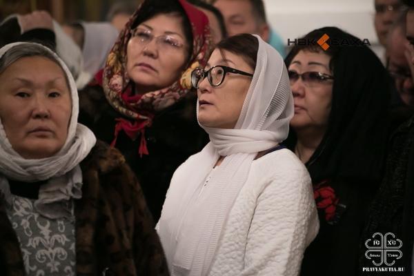 Рождество Христово встретили православные верующие Якутии