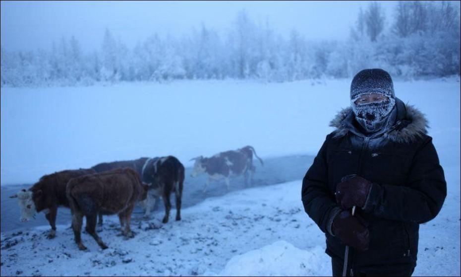 Синоптики прогнозируют в выходные 60-градусные морозы на севере Якутии