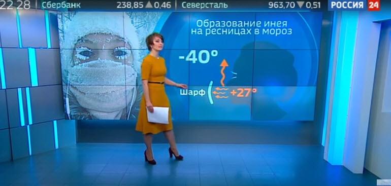 Канал «Россия 24» раскрыл секрет снежного макияжа якутянки