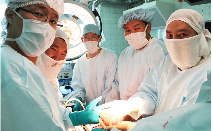 Кадаверная трансплантация о необходимости, которой все время говорили медицинские работники — выполнена!