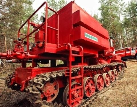 Якутии нужна новая лесопожарная техника