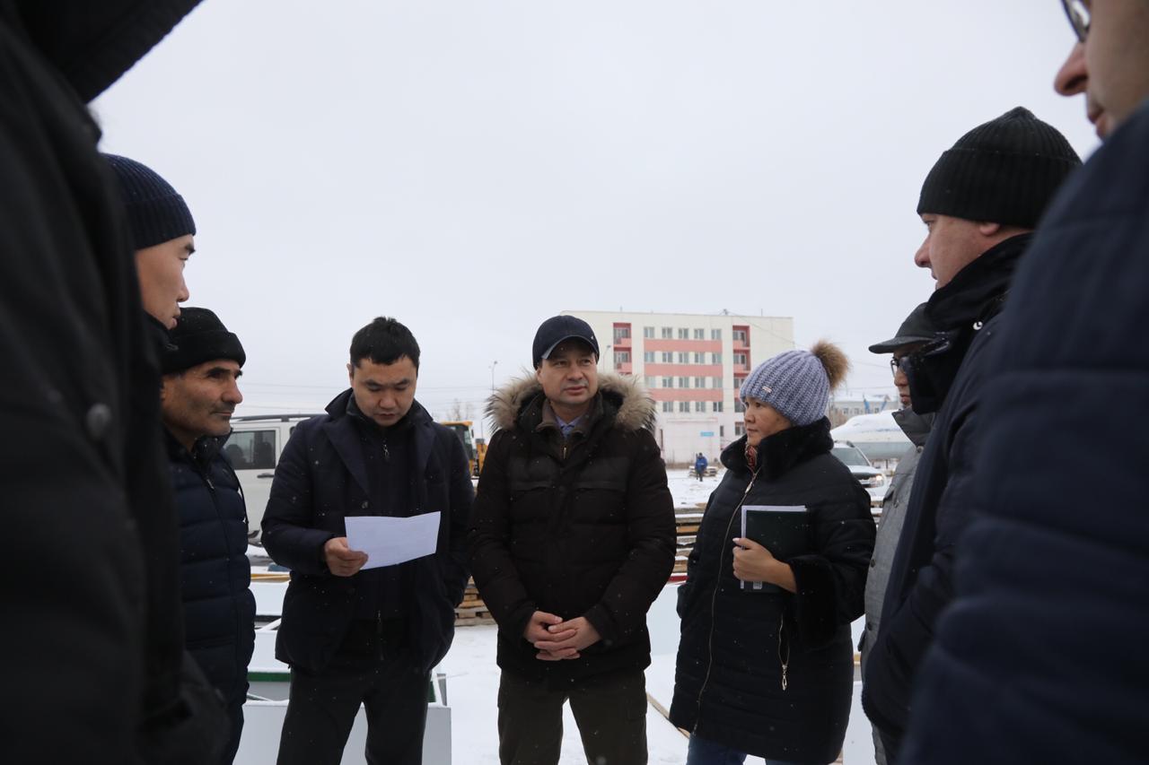 В центре внимания городских властей – «Ворота Якутска» и Промышленный округ