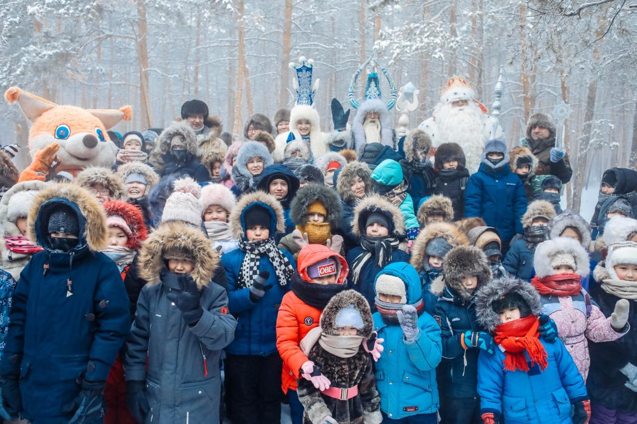 Якутск передает символ новогодней столицы Туле