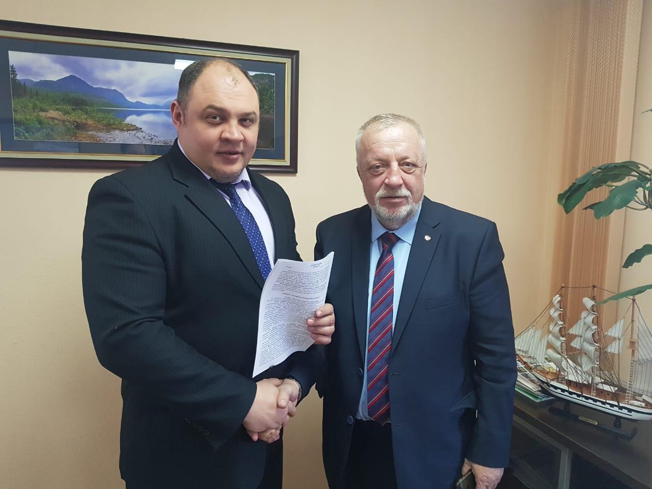 ООО «Ассоциация строителей АЯМ» и МО «Город Алдан» подписали соглашение о сотрудничестве
