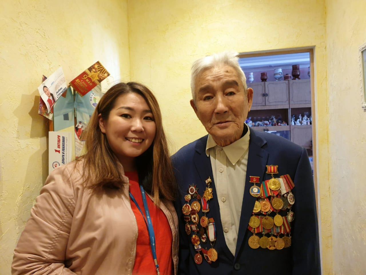 «Алмазы Анабара» поздравили ветеранов с Днем Победы