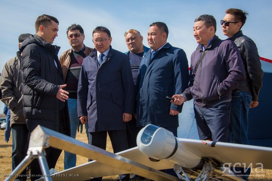 В Якутии состоялась презентация беспилотного летательного аппарата Zala 421-16E