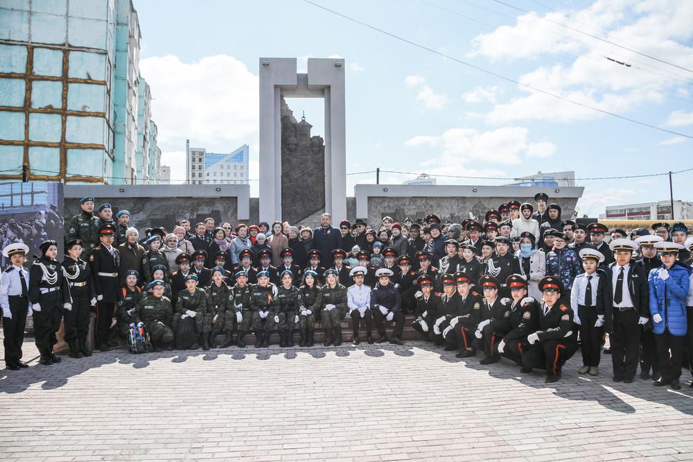 В Якутске в четвертый раз прошел Урок мужества