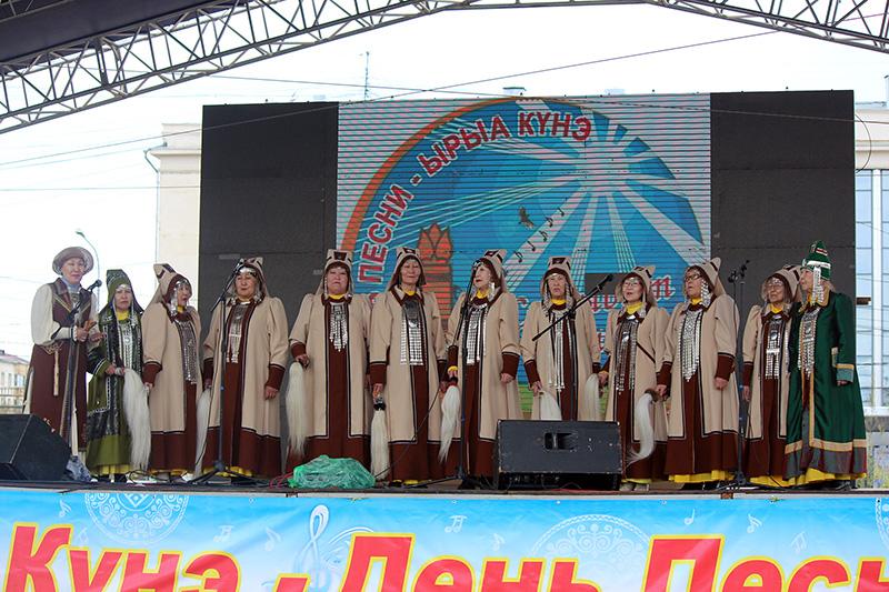 Ансамбли ДДН им. А.Е. Кулаковского выступили на Дне песни
