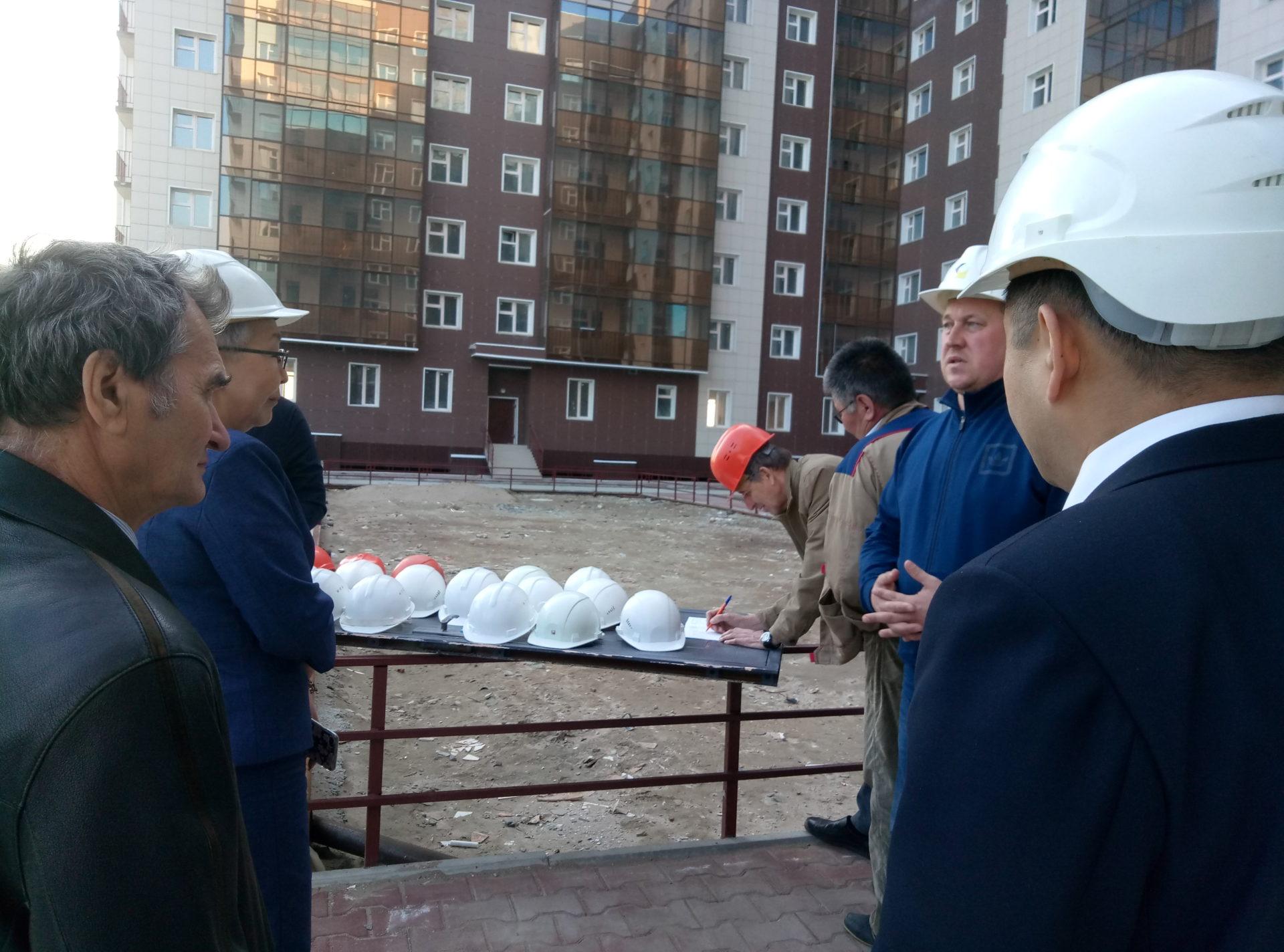Застройщик начал работы на проблемном объекте в г. Якутске