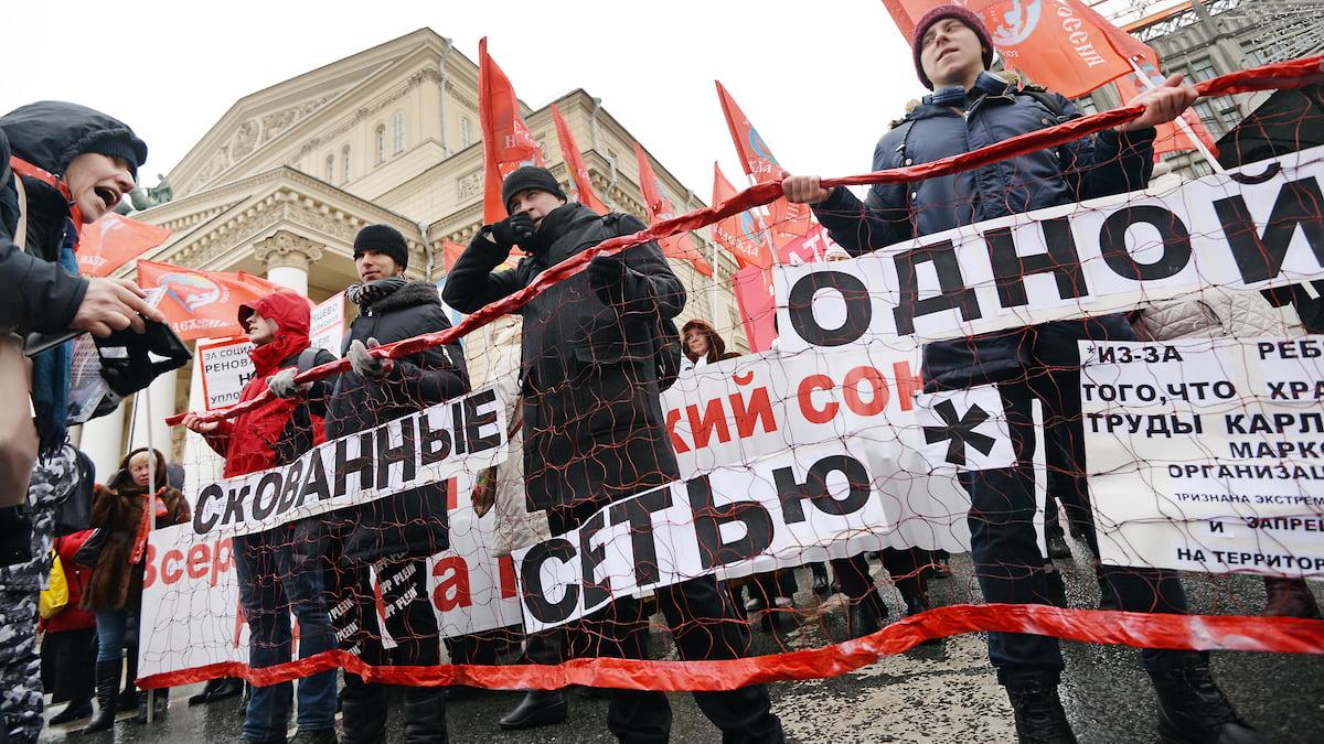 КПРФ призвала к революции — но конституционной