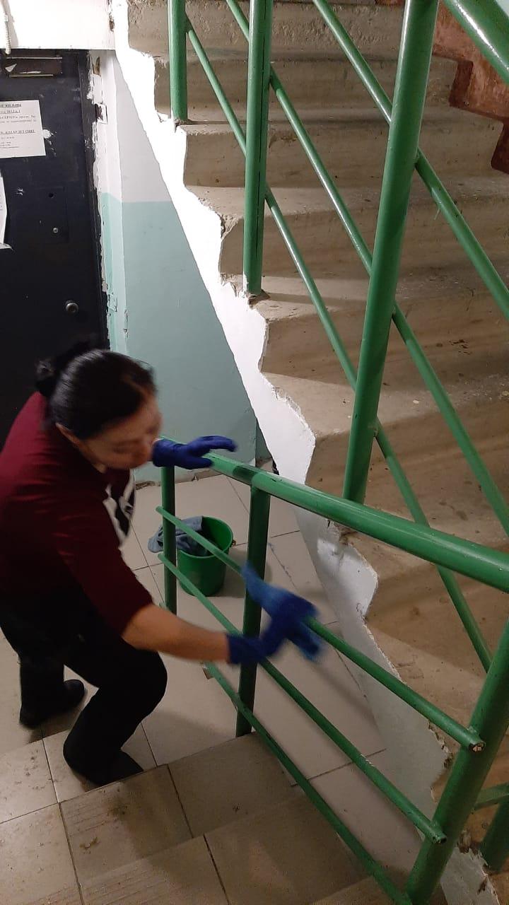 В Якутске проверят санитарную обработку подъездов в многоквартирных жилых домах