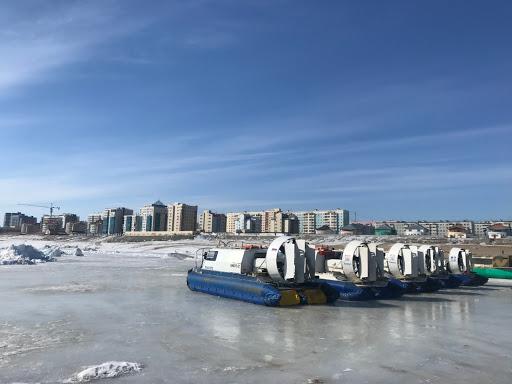 На линию Якутск – Нижний Бестях вышли суда на воздушной подушке
