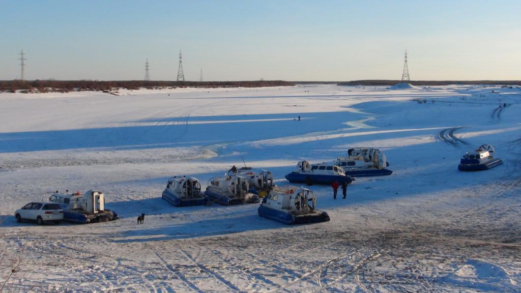 Суда на воздушной подушке начнут работать по маршруту Якутск — Нижний Бестях с середины апреля